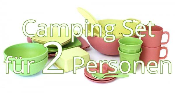 Camping Geschirr Set für 2 Personen