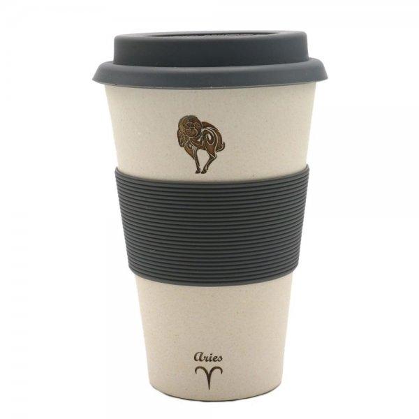 Magu WIDDER - Sternzeichen Bambus coffee 2 go Becher - Aries 135 465