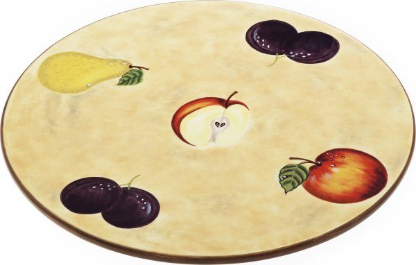 """Keramik Tortenplatte 36cm handbemalt """"TOSCANA"""" - Magu 120 264"""