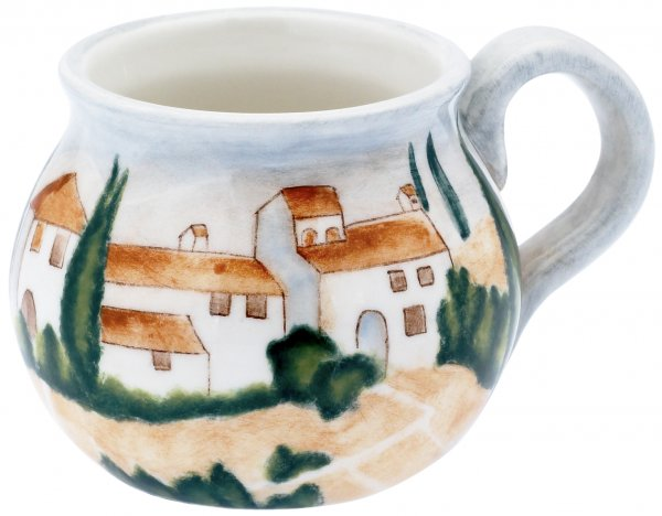 "Keramik Bowlentasse handbemalt ""SIENA"" - Magu 125 951"