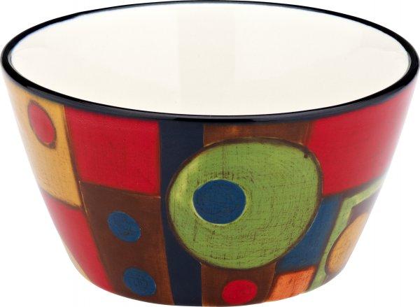 "Keramik Müslischale 14cm handbemalt ""SAMBA"" - Magu 190 062"