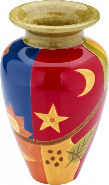 "Vase 24cm handbemalt""MIDNIGHT"" - Magu 192 853"