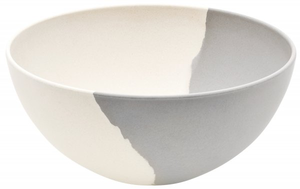 Magu Schüssel 26cm Natur-Design silver flow