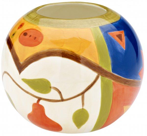 "Keramik Vase 15cm handbemalt""MIDNIGHT"" - Magu 192 813"