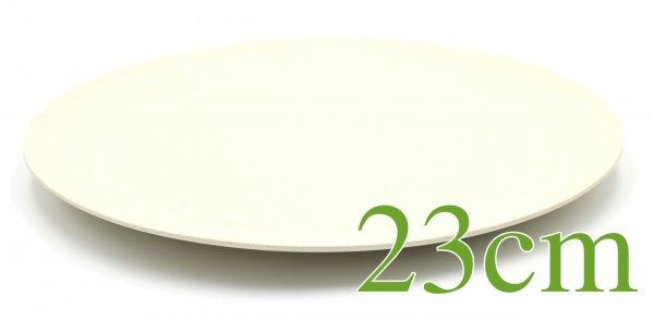"Magu Bambus TELLER ""LINE"" 23cm - Magu - naturweiß 135 332"