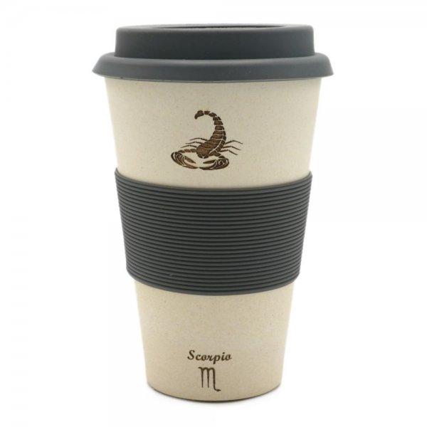 Magu SKORPION - Sternzeichen Bambus Coffee 2 go Becher - Scorpio 135 465