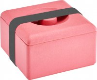 Bamboo multi purpose box square nature red