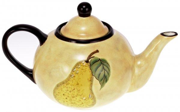 "Keramik Teekanne 1,1 ltr. handbemalt ""TOSCANA"" - Magu 120 713"