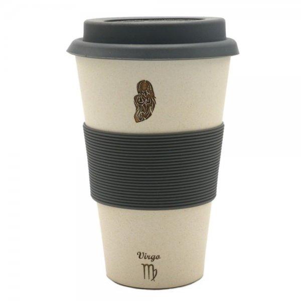 Magu JUNGFRAU - Sternzeichen Bambus Coffee to go Becher - Virgo 135 465