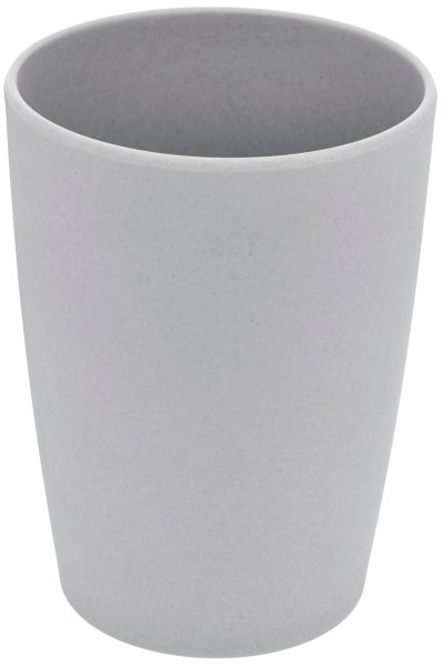 Bamboo cup silver