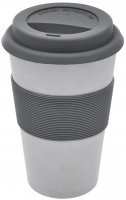 "Magu Trinkbecher ""Coffee to Go"" NATUR-DESIGN silber"