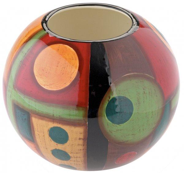 "Vase 15cm handbemalt ""SAMBA"" - Magu 190 813"