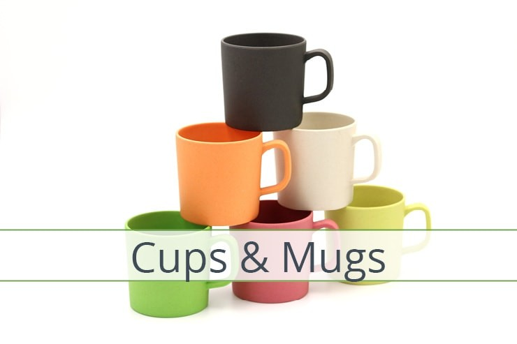 Bamboo Cups & Mugs