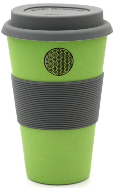 """Flower of Life"" Coffee to go Becher Blume des Lebens"