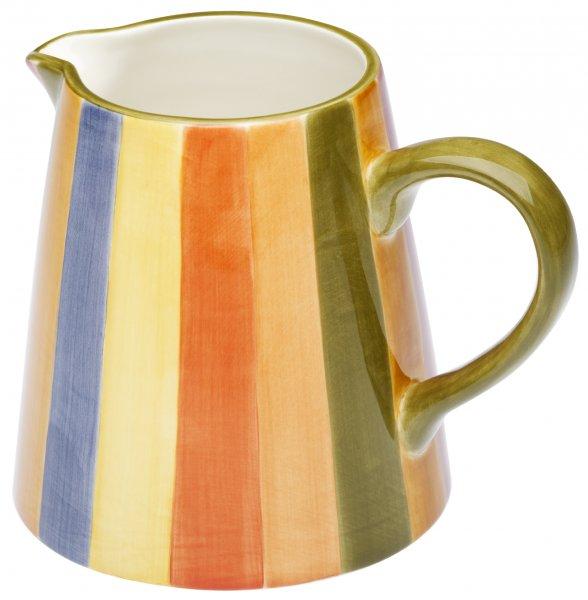 """Keramik Krug 1,0 ltr. handbem. """"KARNEVALE - Magu 118 912"""