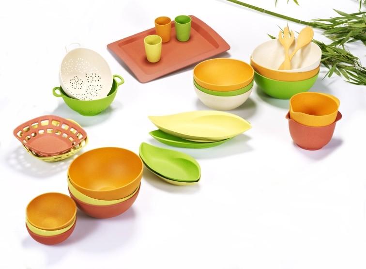 Bambus Geschirr online kaufen  Schüsseln Becher Teller  ~ Geschirr Bambus