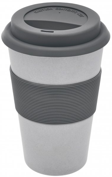 Bamboo Coffee to go cup silver
