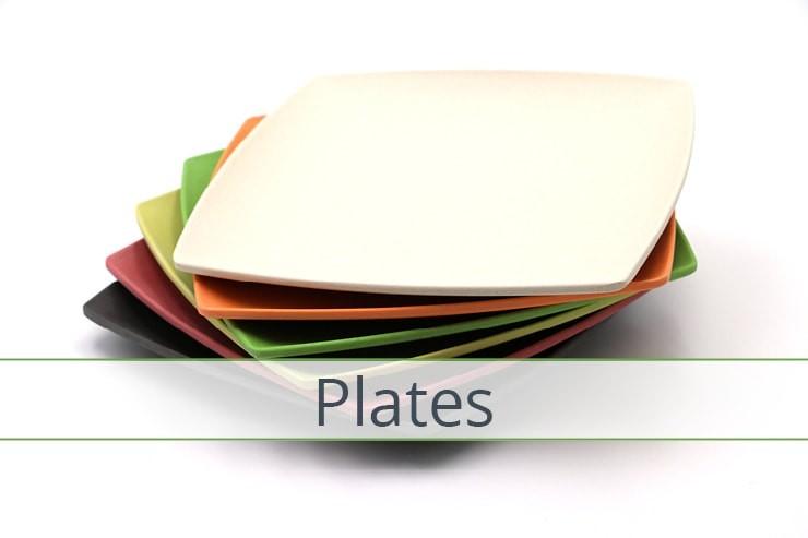 Bamboo Plates