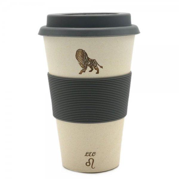 Magu LÖWE - Sternzeichen Bambus Coffee 2 goBecher - Leo 135 465