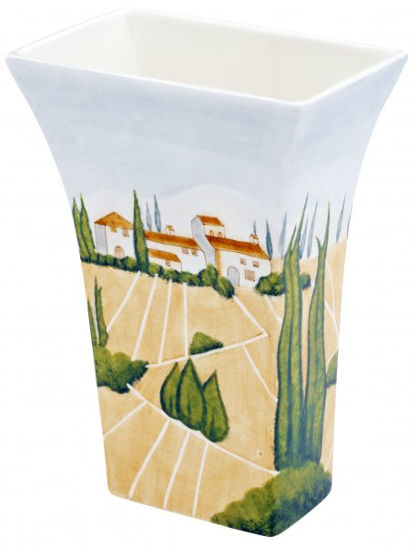 "Vase 25cm handbemalt ""SIENA"" - Magu 125 867"