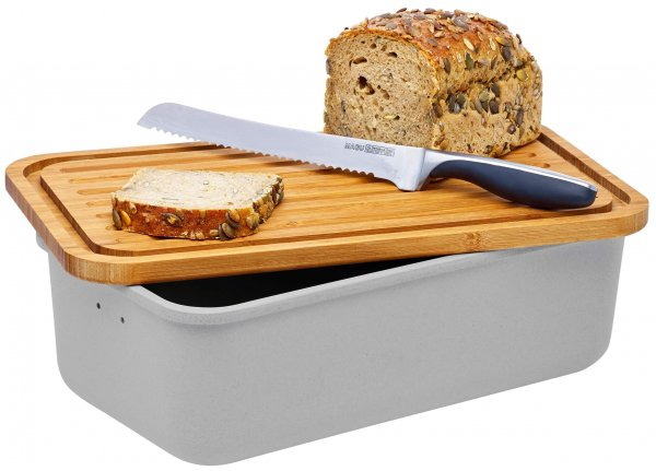 Bread box Magu Nature Design silver