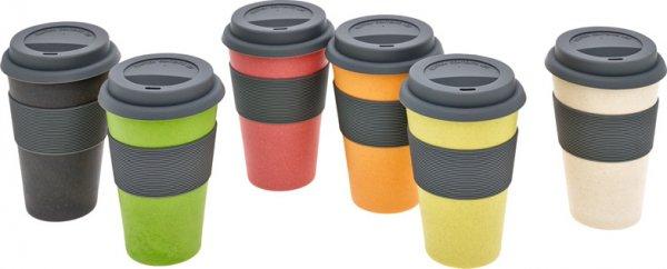Bambus Coffee2go Becher naturweiß