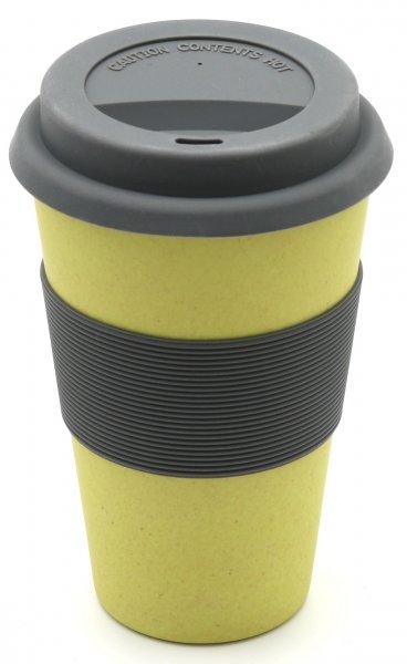 Magu Bambus Coffee2go Becher naturgelb 132 465