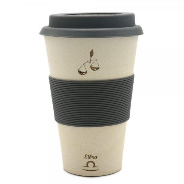 Magu WAAGE - Sternzeichen Bambus Coffee2go Becher - Libra 135 465