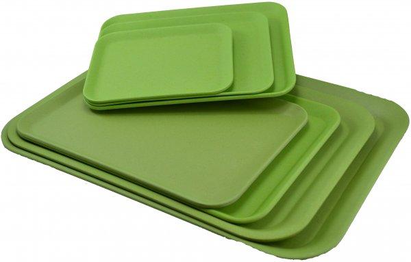 Magu Tablett 43,5x32cm NATUR-DESIGN apfelgrün