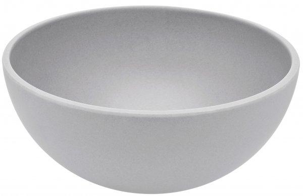 Bamboo bowl 16cm silver