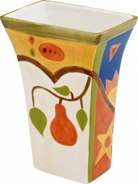 "Keramik Vase 20cm handbemalt""MIDNIGHT"" - Magu 192 866"