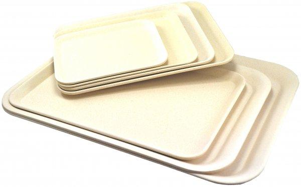 Magu Tablett 43,5x32cm NATUR-DESIGN naturweiß