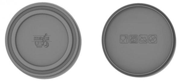 Magu Silikondeckel 20cm CLOSE it grau zu Schüssel …017