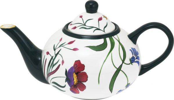 "Keramik Teekanne 1,7 ltr. handb.""BLÜTENZAUBER"" - Magu 124 715"