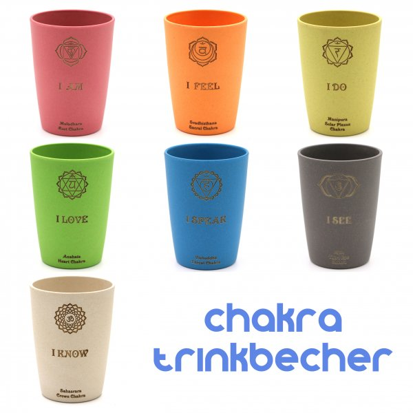 Chakra Trinkbecher