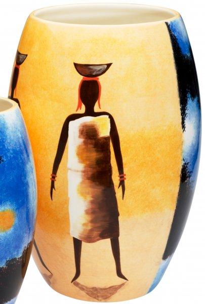 "Vase 35cm handbemalt ""AFRICAN DREAM"" - Magu 194 836"