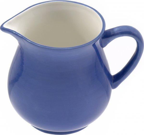 """Keramik Krug 1,0 ltr. """"blau/weiß"""" - Magu 111 912"""