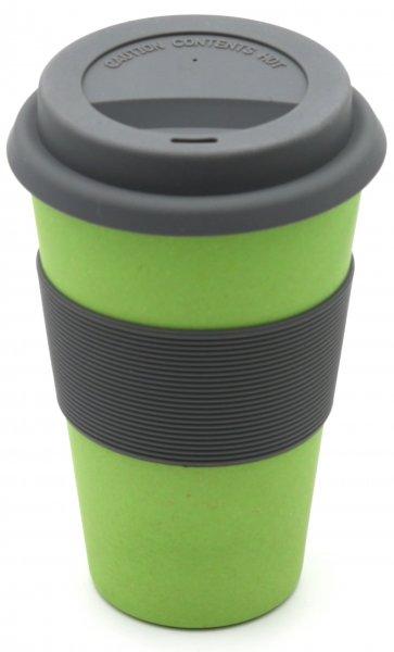 Bambus Coffee2go Becher naturgrün