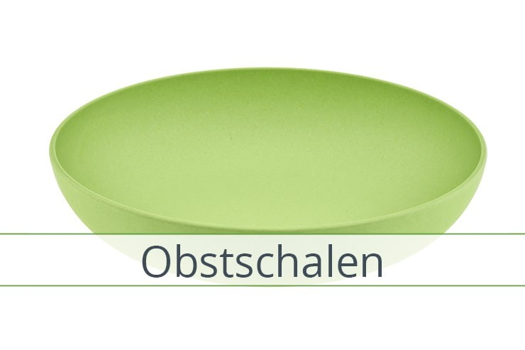 Obstschale Bambus