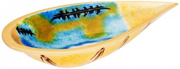 """Keramik Schale oval 41cm """"AFRICAN DREAM"""" - Magu 194 135"""