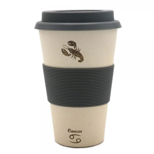 Magu KREBS - Sternzeichen Bambus Coffee to go Becher - Cancer 135 465
