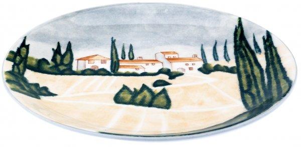 """Frühstücksteller 20 handbemalt """"SIENA"""" - Magu 125 312"""