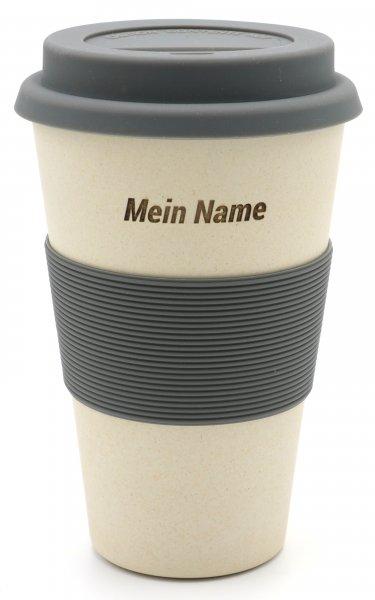 Magu DEIN NAME auf einem Coffee2Go Becher 461 -na