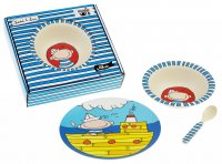 """Ahoi Freddy"" kids bamboo dishes"