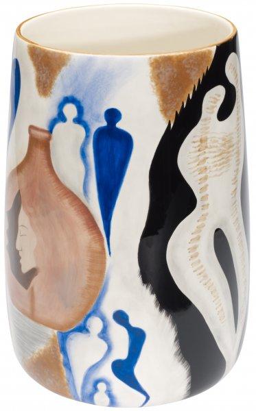 "Vase 24cm handbemalt ""COMMUNICATION"" - Magu 195 888"