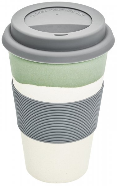 Bamboo Coffee to go cup slate