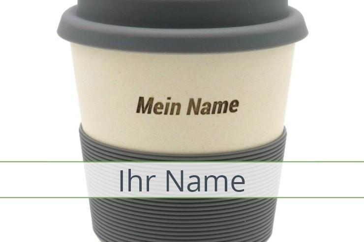 Geschirr mit individuellen Namen