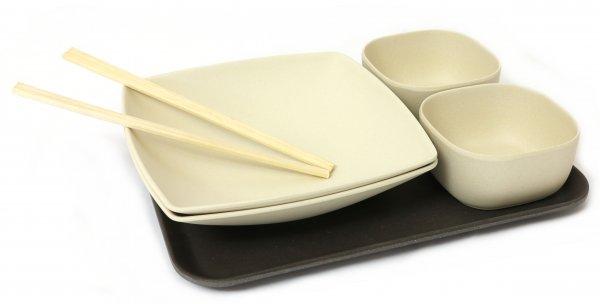 Magu Sushi Set aus Bambus für 2 Personen BUN DLE